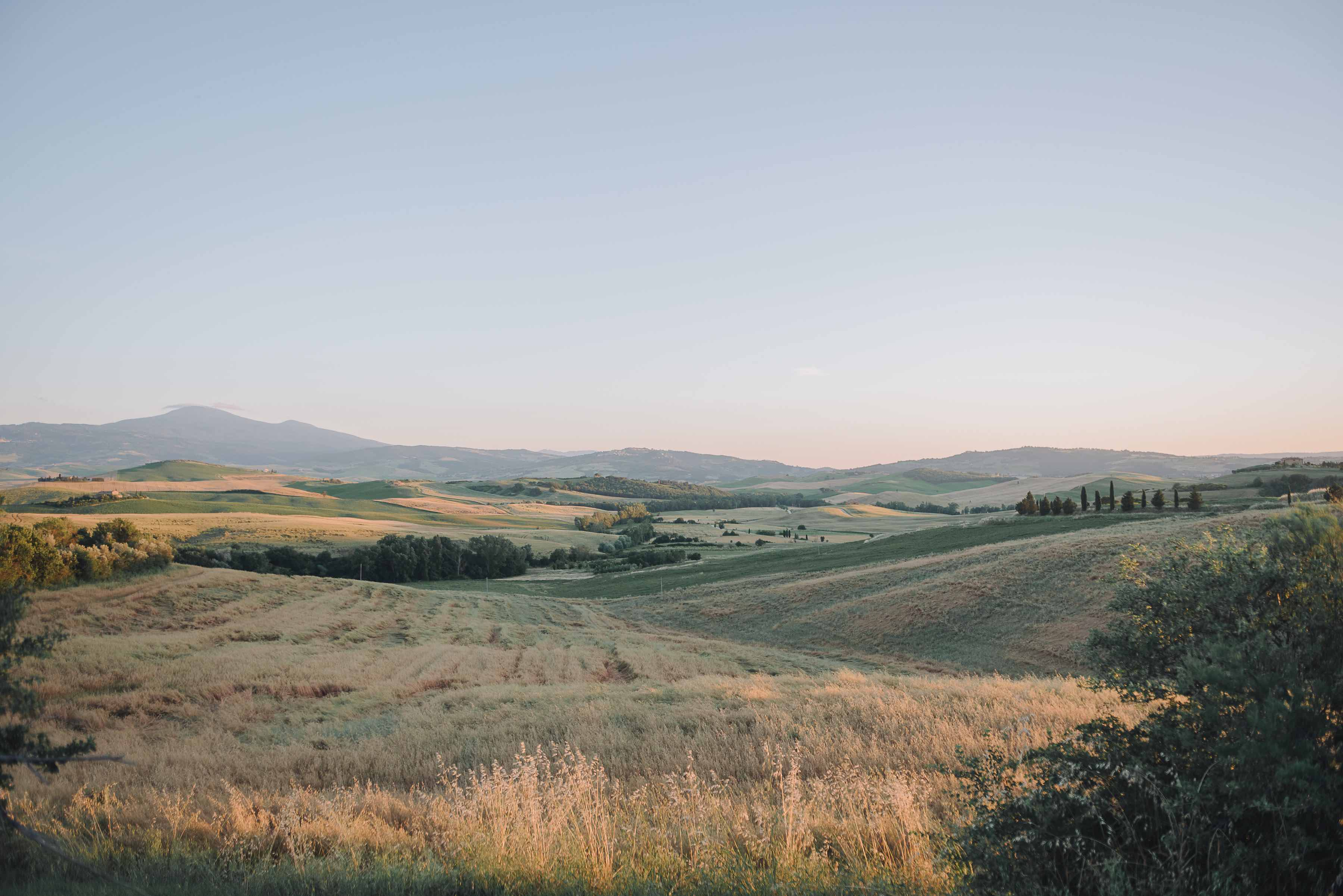 Tuscan magical landscape